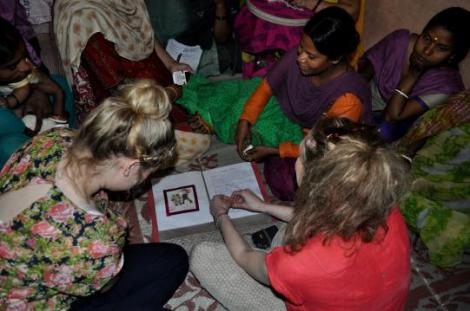 Meeting people affected by leprosy