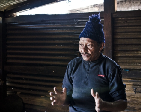 Narb, who has endured great stigma as a result of being treated for leprosy.