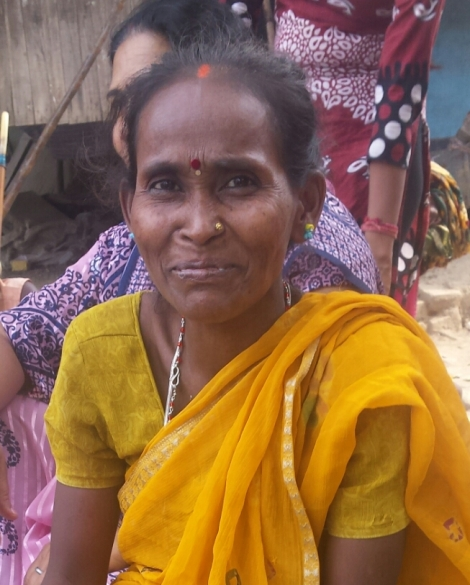 Kalpana, a member of a self-help group supported by The Leprosy Mission