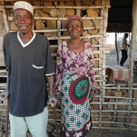 Antonio, with wife Gabrielle, can work again and is now in charge of his local self-care group. Photo: Paul Salmon