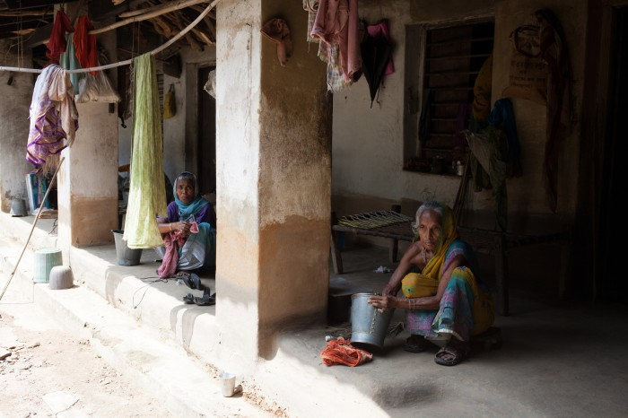 Residents of Purulia leprosy community. Photo: Hassan Nezamian