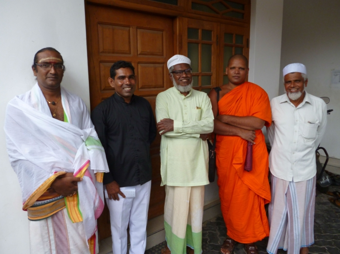 Religious leaders in Sri Lanka meet ahead of a Puttalam interfaith leprosy event
